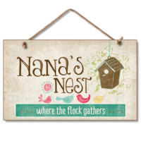 Nana's Nest Sign