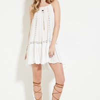 Boho Me Crocheted Cami Dress | Forever 21 - 2000187230