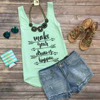 Make Your Dream happen Tank: Mint