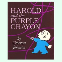 The Land of Nod: Kids' Books: Harold and the Purple Crayon by Crockett Johnson in All Books