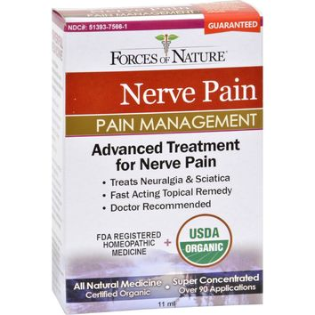 Forces Of Nature Organic Nerve Pain Management - 11 Ml