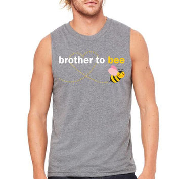 Brother To Bee Muscle Tank