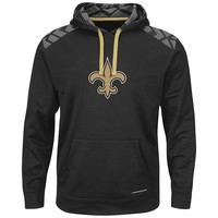 Majestic New Orleans Saints Armor Pullover Synthetic Fleece