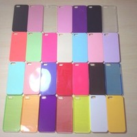For Apple iPhone 5 / 5s Assorted Color Hard Plastic Snap On Case
