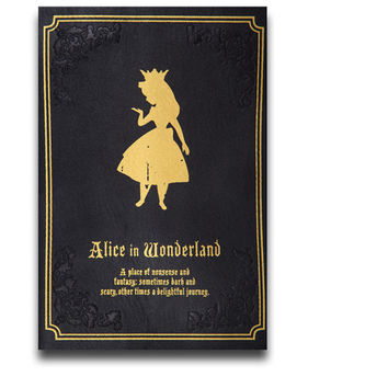 Limited Alice in Wonderland Shoulder Bag L