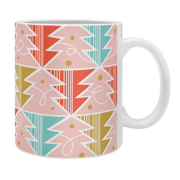 Heather Dutton Trim A Tree Chill Coffee Mug