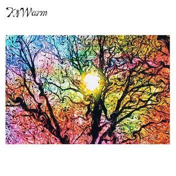 New Sun Patterns Abstract Canvas Painting Nature Art Picture Poster Wall Picture 33*50cm Home Decor Living Room No Frame