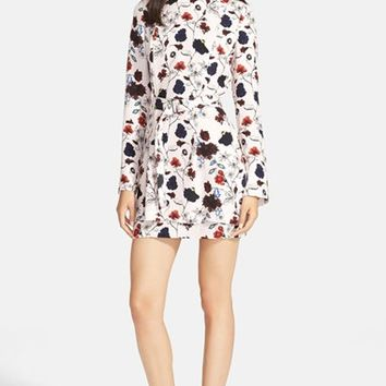 Women's A.L.C. 'Charles' Floral Print Silk Dress,