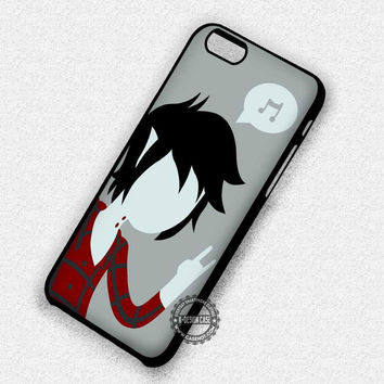 Cartoon Adventure Time Marshall Lee Clear - iPhone 7 6 5 SE Cases & Covers