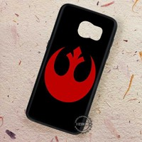 Rebel Alliance Symbol Starwars - Samsung Galaxy S7 S6 S5 Note 7 Cases & Covers