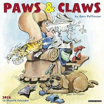 Gary Patterson Paws n Claws Wall Calendar, More Dogs by Willow Creek Press