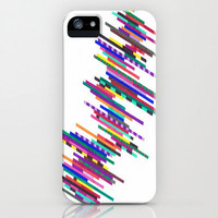 "iPhone 5 Case - ""Crazier Lines"" - unique iPhone case, geometric iPhone case, hipster iphone case, iphone 5 case"
