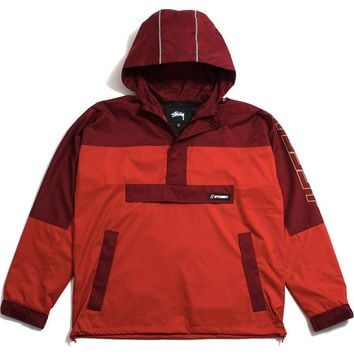 Alpine Pullover Jacket Red