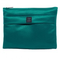 Everpurse: Aquamarine fabric clutch