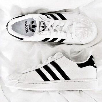 """""""Adidas"""" Fashion Casual Sport Shell-toe Flats Sneakers Sport Shoes G"""