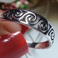 Sterling Silver 925 Celtic Ring