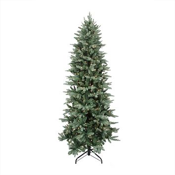 6.5' Pre-Lit Washington Frasier Fir Slim Artificial Christmas Tree - Clear Lights