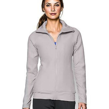 Under Armour Womens UA ColdGear Infrared Full Zip Jacket Large MOON MIST