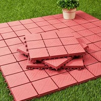 Outdoor Paving Patio Pavers Lawn Yard Backyard Ground Pathway Covers 12 Pack