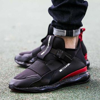 PEAPON3A VAWA Puma MCQ CELL MID Casual Shoes 360519 Sneaker Black Red