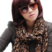 Cool2day® Bob Style Short Straight Kanekalon Hair Wig (Model: Jf010285) (Wine Red)