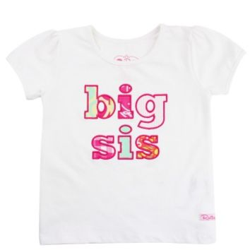 Mix-Print Big Sis Tee
