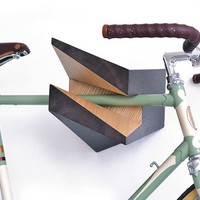 Iceberg Wooden Bike Hanger | The Gadget Flow