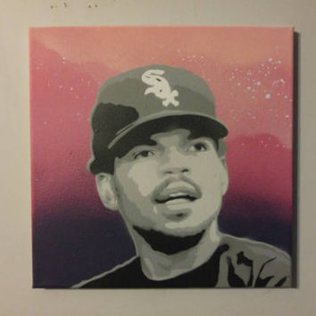 Chance the rapper Painting 12x12