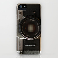 film camera  iPhone & iPod Case by Laura Ruth