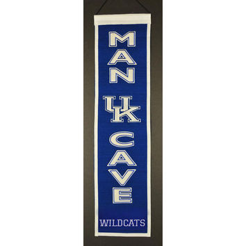 Kentucky Wildcats NCAA Man Cave Vertical Banner (8 x 32)