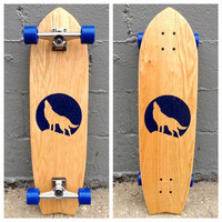 The Full Moon Longboard Skateboard, by Salemtown Board Co. - Salemtown Board Co. on Taigan