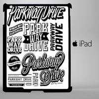 Parkway Drive college iPad 2, iPad 3, iPad 4, iPad Mini and iPad Air Cases