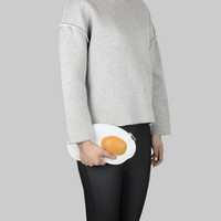 Pan Egg Clutch Bag
