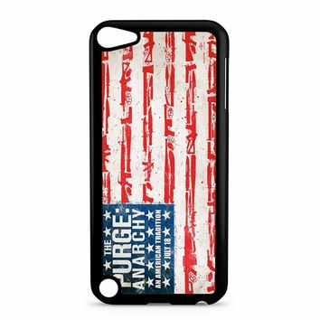 The Purge Anarchy Flag iPod Touch 5 Case