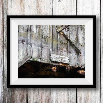 Vintage Blacksmith Shop Wall Art Print -- Fine Art landscape photography, Antique, Western,  Home Decor, HeatherRobersonPhoto