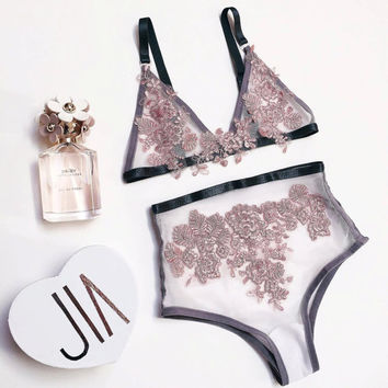 LILY lingerie french lace set