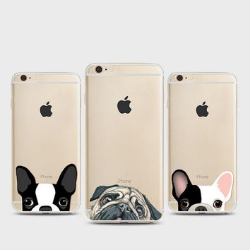 Dog phone case for iphone 5 5s SE 6 6s 6 plus 6s plus + Nice gift box 080901