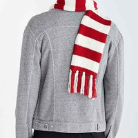 Where's Waldo X UO Stripe Scarf- Red One