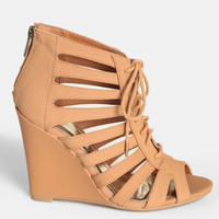 Pachuca Sunrise Lace-Up Wedges - $42.00 : ThreadSence, Women's Indie & Bohemian Clothing, Dresses, & Accessories