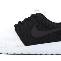 Nike Roshe One - Custom Two Tone - Black/White