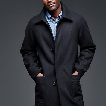 Gap Men Wool Mac Jacket