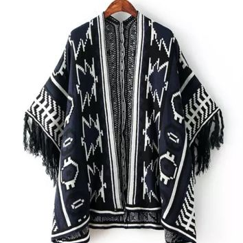 Tegan Boho Shawl Cardigan