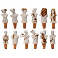 Gods of the Zodiac Wine Stoppers, Set of 12