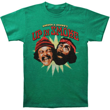Cheech & Chong Men's  Cheech & Chong Up In Smoke T-shirt Green