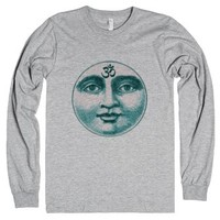 Moon Om-Unisex Heather Grey T-Shirt