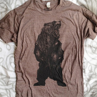 Heather Brown Bear T-Shirt