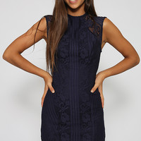 Lauriel Dress - Navy