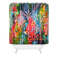 Stephanie Corfee Lush Shower Curtain