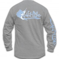 Sailfished Teams Long Sleeve Pocket Tee - Tops - Mens