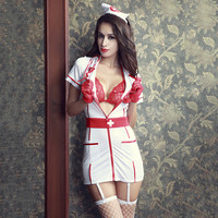 Cute Hot Deal On Sale Sexy Uniform Exotic Lingerie [6596216195]